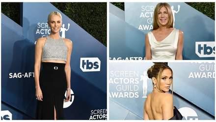 SAG Awards 2020: самые эффектные наряды красной дорожки престижной кинопремии