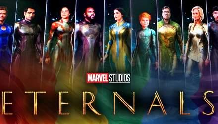 """Зйомки фільму """"Вічні"""" від Marvel добігли кінця: коли чекати прем'єру"""