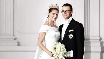 Принцеса Швеції показала нові фото зі свого розкішного весілля