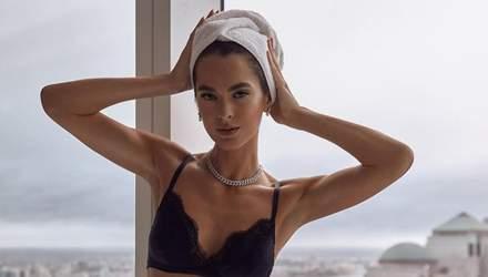 За тиждень після пологів: Міс Україна Всесвіт Олеся Стефанко вразила ідеальним тілом у бікіні