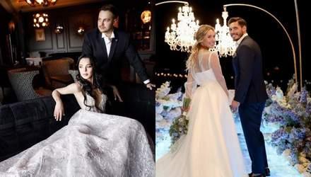 Звездные свадьбы: какие знаменитые пары поженились этим летом