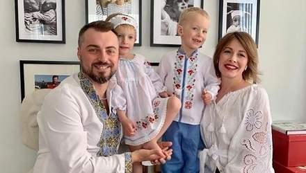 Олена Кравець замилувала фотографією з двома підростаючими дітьми