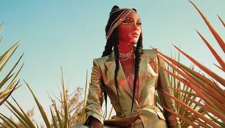 Моя шкіра – моє діло: яскрава і футуристична Вінні Гарлоу знялась для обкладинки журналу FASHION