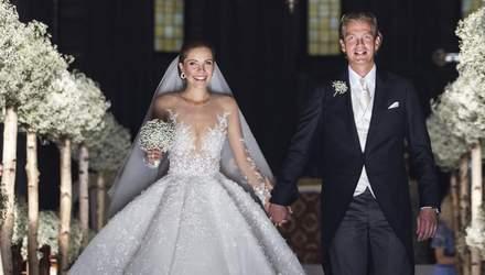 От Виктории Сваровски до Кэтрин Зеты-Джонс: самые дорогие свадебные платья знаменитостей