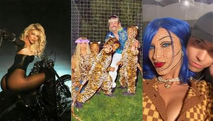 Семья Кардашян, Белла Хадид и другие: лучшие хэллоуинские образы зарубежных звезд