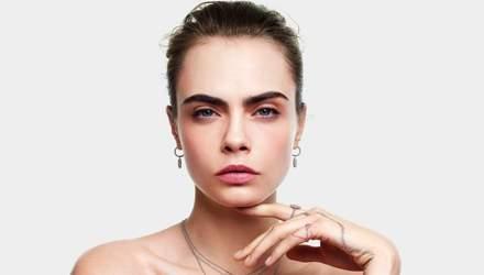Кара Делевінь представила різдвяну колекцію прикрас Dior: чарівне відео