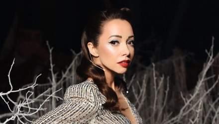 Екатерина Кухар надела обольстительное мини-платье для съемок шоу: видео