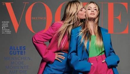 16-річна донька Гайді Клум дебютувала на обкладинці німецького Vogue: захопливі фото