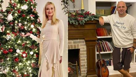Як українські зірки прикрасили будинки до Різдва: яскрава добірка святкових фото