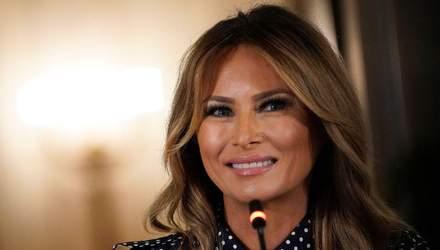 У розкішних пальтах і стильних сукнях: найкращі образи Меланії Трамп у 2020 році