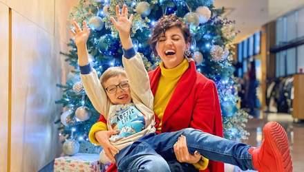 Оля Цибульская трогательно поздравила сына с днем рождения и показала его детские кадры