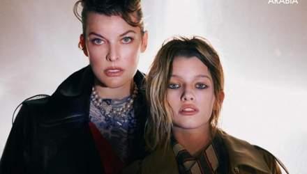 13-річна донька Міла Йовович вперше знялась у журналі Vogue: фото