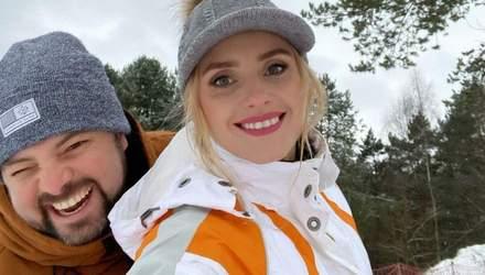 Зі Старим Новим роком: Ірина Федишин привітала зі святом і показала зимові сімейні розваги