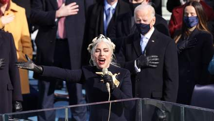 Леді Гага виконала гімн на інавгурації Байдена: промовисте відео