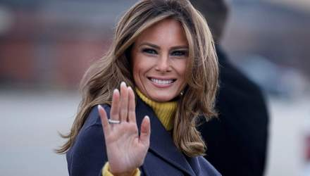 Перша леді США Меланія Трамп виступила з прощальною промовою: відео