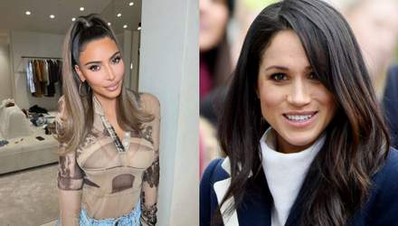 Самые красивые женщины мирового шоу-бизнеса: лица Ким Кардашян и Меган Маркл признали идеальными
