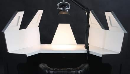 Переходи на темную сторону: дизайнеры показали рабочее место Дарта Вейдера