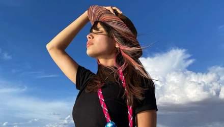 Спокуслива Мішель Андраде розбурхала мережу оголеним бюстом: гаряче фото 18+