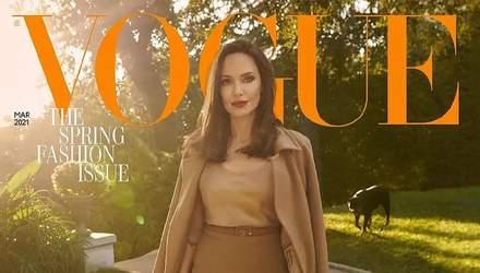 Анджеліна Джолі з'явилася на обкладинці Vogue та підкорила мережу неймовірними кадрами