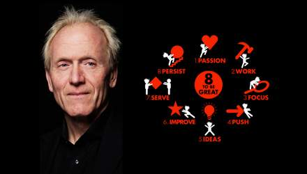Як стати успішним: 8 принципів від мільйонера Річарда Сент-Джона