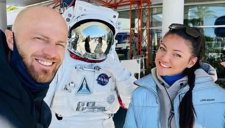 В музее NASA: Влад Яма показал развлечения с женой и сыном в США – эффектное видео