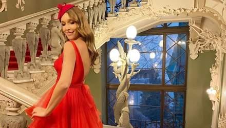 В вечернем платье: Катя Осадчая очаровала роскошным образом – яркие фото