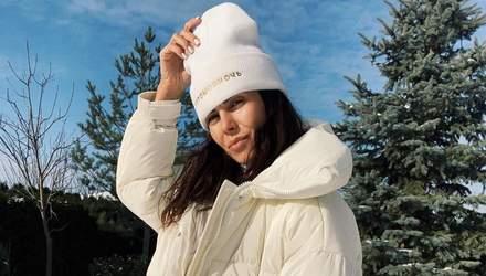 У куртці Потапа: Настя Каменських показала стильний зимовий образ – фото