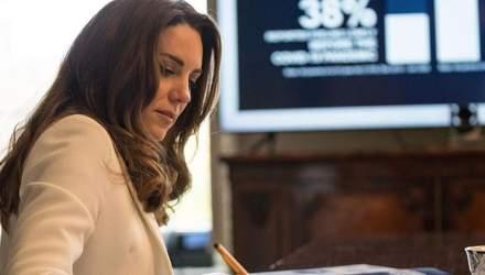 Кейт Миддлтон покорила образом в элегантном жакете: новая видеовстреча герцогини