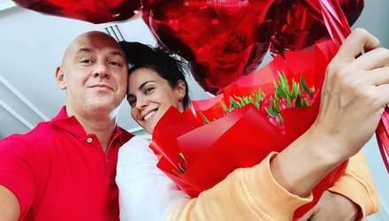 Настя Каменських показала, як Потап привітав її з Днем Валентина: романтичне фото