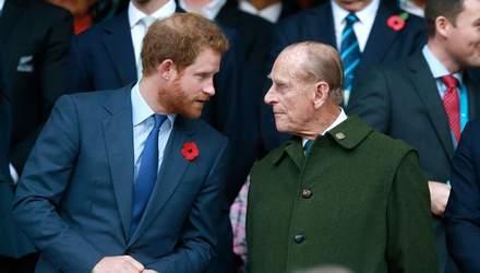 Принц Гаррі переживає за дідуся Філіпа і готується до вильоту у Лондон, – ЗМІ