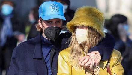 Couple look о котором говорят все: стильные образы Хейли и Джастина Биберов