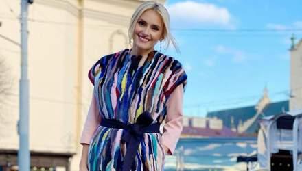 Ирина Федишин прогулялась по Львову: фото яркого образа певицы