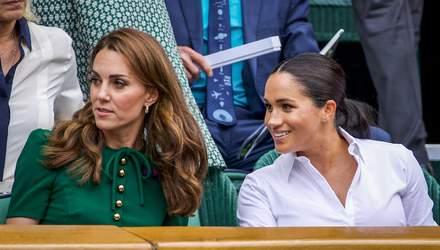 Дворец отказал Меган Маркл в просьбе вмешаться в конфликт с Кейт Миддлтон
