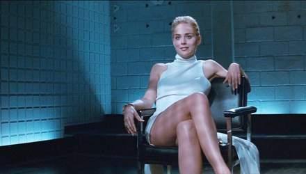 """Шерон Стоун заявила, що еротична сцена """"Основного інстинкту"""" була знята проти її волі"""