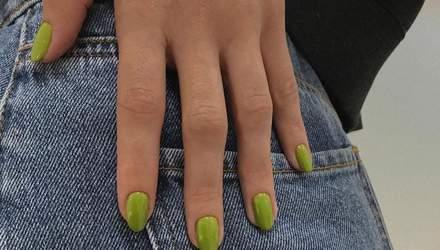 Миндалевидная: 18 идей для маникюра на самой модной форме ногтей