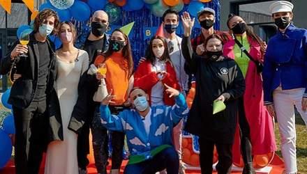Санина, Кухар, Дорофеева, Яма: Монатик отпраздновал 35-летие в компании звездных коллег