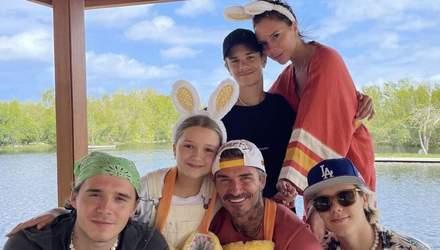 Королівська сім'я, Бекхеми та Кардашян: світові знаменитості святкують Великдень
