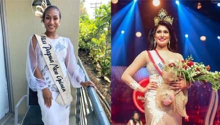 Поганий день для красунь: у Міс Папуа-Нова Гвінея та Місіс Шрі-Ланка забрали корони