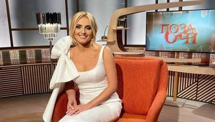 Ирина Федишин очаровала образом в белом платье с бантом: фото