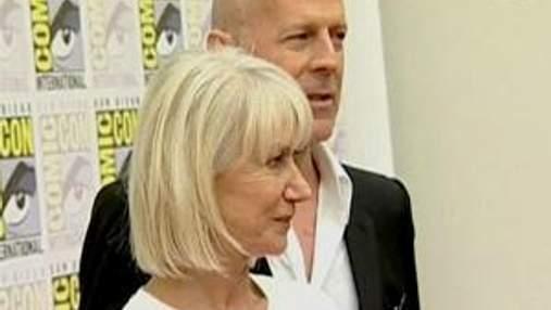"""Хеллен Міррен та Брюс Вілліс у фільмі """"Розумні, небезпечні, зухвалі"""""""