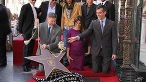 Пенелопа Крус первой из испанок получила звезду на Аллее Славы