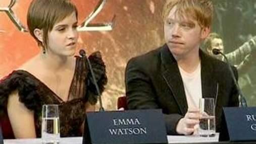 """Зірки """"Гаррі Поттера"""" зібрались на прес-конференцію до прем'єри"""