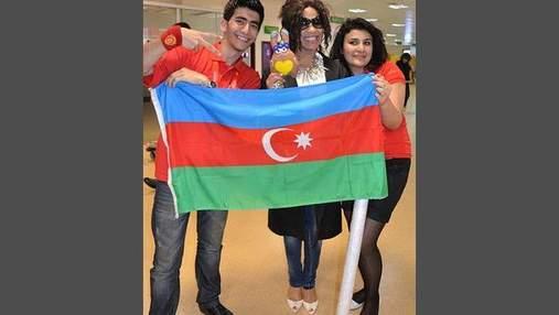 Гайтана прилетіла в Баку (Фото)
