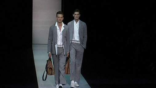 Giorgio Armani представил коллекцию весна/лето 2013