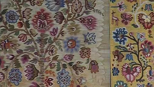 Музей декоративного искусства в Киеве выставил украинские ковры