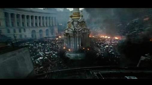 У фільмі з Джорджем Клуні використали кадри з Євромайдану