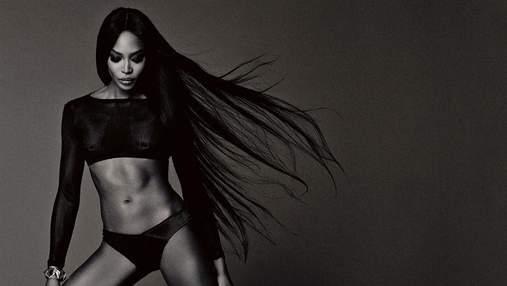 Модель Наомі Кемпбелл вразила відвертою фотосесією для чоловічого глянцю (18+)