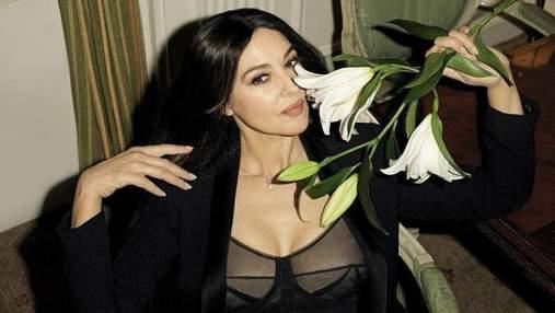 Моніка Беллуччі взяла участь у відвертій фотосесії культового фотографа