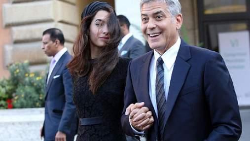 Джордж и Амаль Клуни ожидают двойню