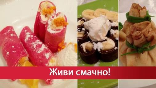 Приготування млинців на Масляну: рецепти з фото 5 оригінальних ідей